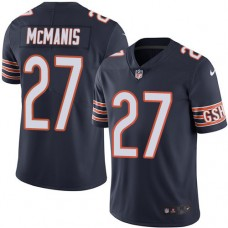 2016 Nike Chicago Bears 27 Sherrick McManis Navy Blue Mens Stitched NFL Limited Rush Jersey