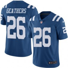 2016 Nike Indianapolis Colts 26 Clayton Geathers Royal Blue Mens Stitched NFL Limited Rush Jersey