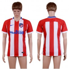 2017-2018 Club Men Atletico Madrid Home Aaa+ Soccer Jersey