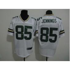 2017 NFL Green Bay Packers 85 Jennings white Nike elite Jersey