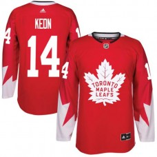 2017 NHL Toronto Maple Leafs Men 14 Dave Keon red jersey