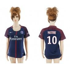 2017-2018 Club Pari St German home aaa verion women 10 soccer jersey