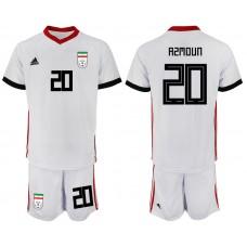 2018 World Cup Men Iran home 20 soccer jersey