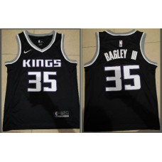 Men Sacramento Kings 35 Bagley iii Black Game Nike NBA Jerseys