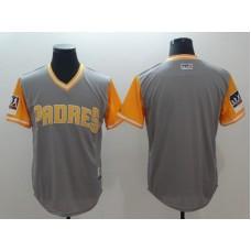 2018 Men San Diego Padres Blank grey New Rush Limited MLB Jerseys