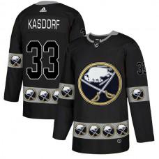 2019 Men Buffalo Sabres 33 Kasdorf Black Adidas NHL jerseys
