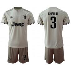 Men 2018-2019 club Juventus away 3 grey Soccer Jerseys