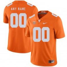 Men Tennessee Volunteers 00 Any name Orange Customized NCAA Jerseys