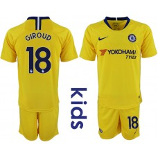 2018_2019 Club Chelsea away Youth 18 soccer jerseys