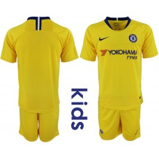 2018_2019 Club Chelsea away Youth soccer jerseys