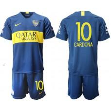 Men 2018-2019 club Boca juniors home 10 blue Soccer Jerseys