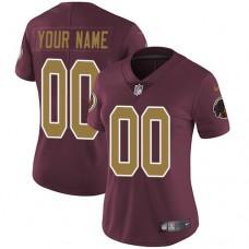 2019 NFL Women Nike Washington Redskins Alternate Burgundy Red Customized jersey