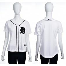 2016 MLB Detroit Tigers Blank white women jerseys