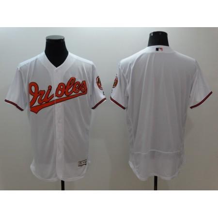 2016 MLB FLEXBASE Baltimore Orioles blank white jerseys
