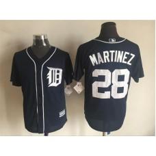 2016 MLB FLEXBASE Detroit Tigers 28 Martinez blue jerseys