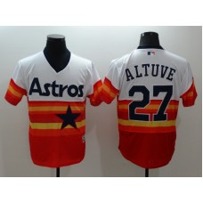 2016 MLB FLEXBASE Houston Astros 27 Jose Altuve 1979 Turn Back The Clock Jersey