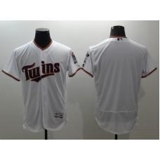 2016 MLB FLEXBASE Minnesota Twins blank white jerseys