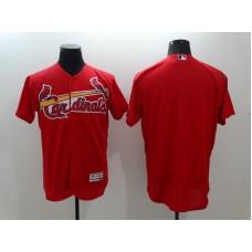 2016 MLB FLEXBASE St. Louis Cardinals Blank Red Jersey