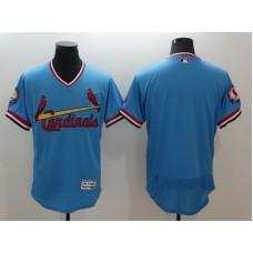 2016 MLB St. Louis Cardinals Blank Blue Elite Fashion Jerseys