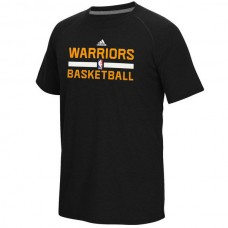 2016 NBA Golden State Warriors adidas On-Court climalite Ultimate T-Shirt - Black