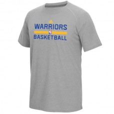 2016 NBA Golden State Warriors adidas On-Court climalite Ultimate T-Shirt - Gray