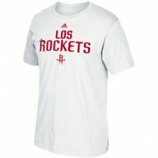 2016 NBA Houston Rockets adidas Noches Ene-Be-A T-Shirt - White