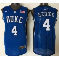 2016 NBA NCAA Duke Blue Devils 4 Redick Blue Jerseys 1