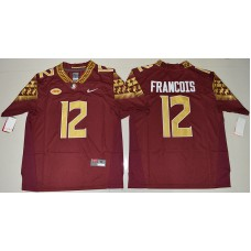 2016 NCAA Florida State Seminoles 12 Deondre Francois Red College Football Limited Jersey