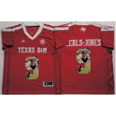 2016 NCAA Texas A&M Aggies 9 Seals-Jones Red Fashion Edition Jerseys