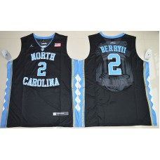 2016 North Carolina Tar Heels Joel Berry II 2 College Basketball Black Jersey