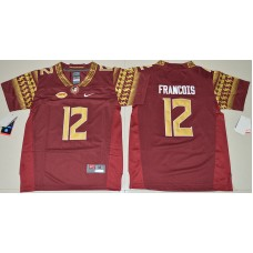2016 Youth NCAA Florida State Seminoles 12 Deondre Francois Red College Football Jersey