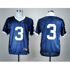 NCAA Penn State Nittany Lions 3 Navy Blue Nike College Football Jersey.
