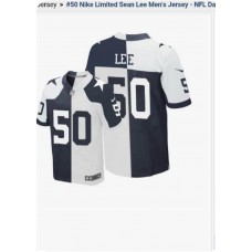 2015 NFL Dallas Cowboys 50 Nike limited Sean Lee Men's jersey