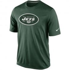 2016 NFL New York Jets Nike Legend Logo Essential 2 Performance T-Shirt - Green