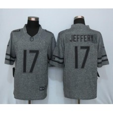 2016 New Nike Chicago Bears 17 Jeffery Gray Men's Stitched Gridiron Limited Jersey