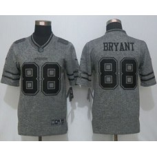 2016 New Nike Dallas Cowboys 88 Bryant Gray Stitched Gridiron Gray Limited Jersey