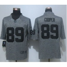 2016 New Nike Oakland Raiders 89 Cooper Gray Men's Stitched Gridiron Gray Limited Jersey