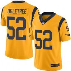 2016 Nike Los Angeles Rams 52 Alec Ogletree Gold Men Stitched NFL Limited Rush Jersey