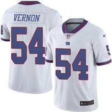 2016 Nike New York Giants 54 Olivier Vernon White NFL Limited Rush Jersey