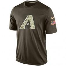 2016 Mens Arizona Diamondbacks Salute To Service Nike Dri-FIT T-Shirt