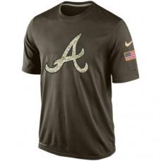 2016 Mens Atlanta Braves Salute To Service Nike Dri-FIT T-Shirt (2)