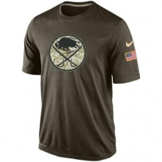2016 Mens Buffalo Sabres Salute To Service Nike Dri-FIT T-Shirt