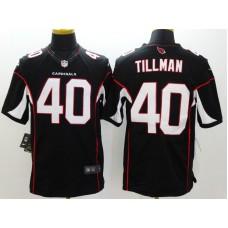 Arizona Cardicals 40 Tillman Black Nike Limited Jerseys