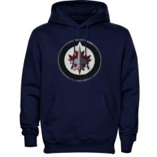 2016 NHL Levelwear Winnipeg Jets Freshman Hoodie - Navy Blue