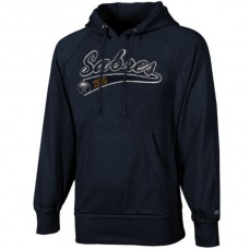 2016 NHL Old Time Hockey Buffalo Sabres Hudson Pullover Hoodie - Navy Blue