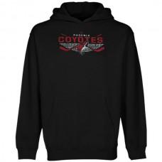 2016 NHL Old Time Hockey Phoenix Coyotes Osaka Pullover Hoodie - Black
