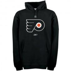 2016 NHL Reebok Philadelphia Flyers Primary Logo Pullover Hoodie - Black