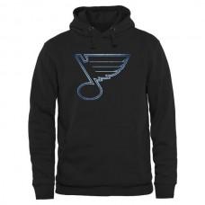 2016 NHL St. Louis Blues Rinkside Pond Hockey Pullover Hoodie - Black