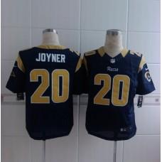 2014 Nike NFL St. Louis Rams 20 Joyner blue Elite Jerseys